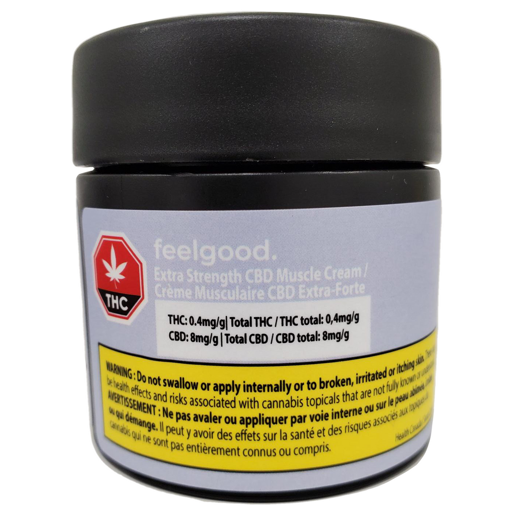 Extra Strength CBD Cream By feelgood.