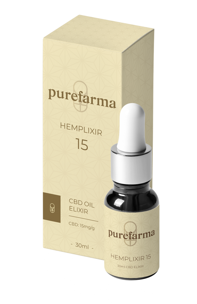 Hemplixir 15 (30ml) By Purefarma