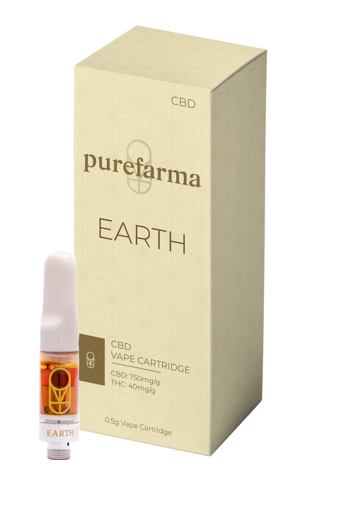 CBD Earth (0.5g) By Purefarma