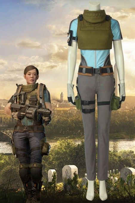 Tom Clancy's The Division 2 Heroine Heather Ward Cosplay Costume