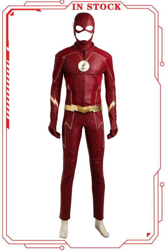 [In Stock]The Flash Season 4 Barry Allen Cosplay Costume(No Boots)