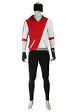 Pokemon Go Red Team Valor Mystic Instinct Trainer Cosplay Costume For Men With Hat