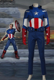 The Avengers 1 Captain America Steven Rogers Cosplay Costume