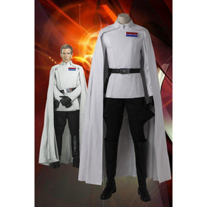 Rogue One A Star Wars Story Orson Krennic Cosplay Costume With Boots