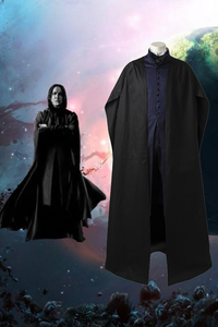 Harry Potter Professor Severus Snape Cosplay Costume