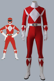 Mighty Morphin' Power Rangers Geki Tyranno Ranger Cosplay Costume With Boots