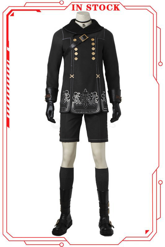 [In Stock]NieR: Automata 9S YoRHa No.9 Type S Cosplay Costume(No Boots)