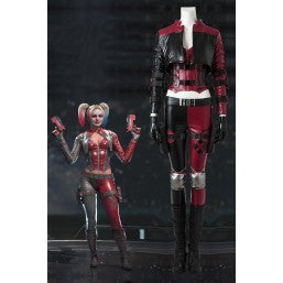 DC Game Injustice 2 Harley Quinn Cosplay Costume Halloween Outfit