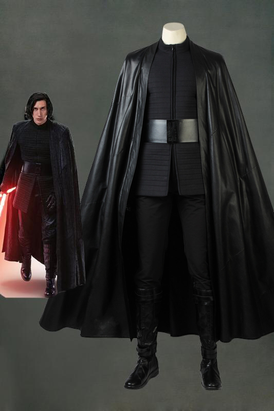 Star Wars: The Last Jedi Kylo Ren Cosplay Costume With Boots