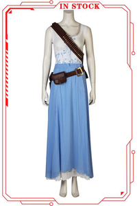 [In Stock]Westworld Season2 Dolores Abernathy Cosplay Costume(No Boots)