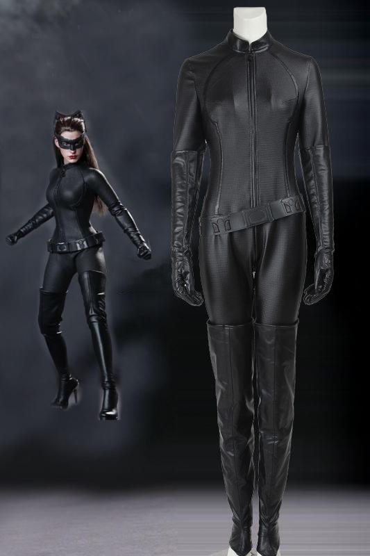 DC Comic Batman The Dark Knight Rise Catwoman Cosplay Costume