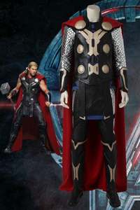 Marvel Avengers Age Of Ultron Thor Odinson Cosplay Costume With Boots