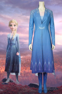 Disney Frozen 2 Elsa Cosplay Costume