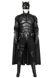 The Batman 2021 Movie Bruce Wayne Robert Pattinson Cosplay Costume
