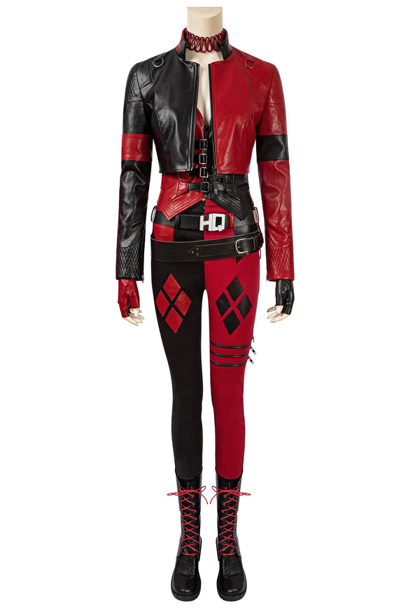 The Suicide Squad 2021 Harley Quinn Cosplay Costume Style B