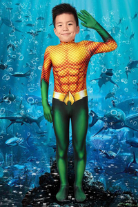 Aquaman Arthur Curry Jumpsuit For Kids