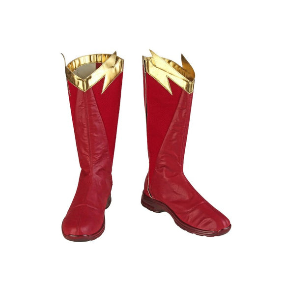 The Flash Season 5 Barry Allen Cosplay Boots