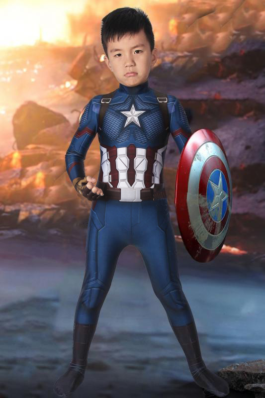 Avengers: Endgame Steven Rogers Captain America For Kids