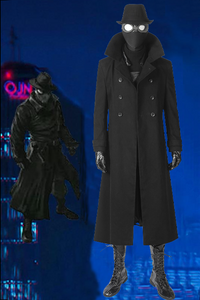 Spiderman Into The Spider-Verse Spider-Man Noir Cosplay Costume