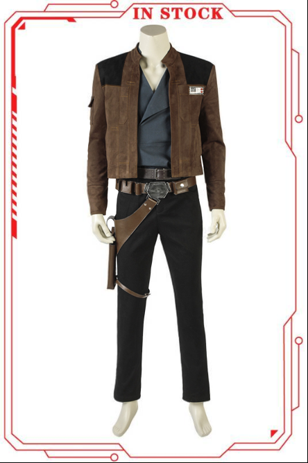 [In Stock]Solo: A Star Wars Story Han Solo Cosplay Costume(No Boots)