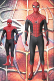 Spiderman Far From Home Spiderman Cosplay Costume With Sole