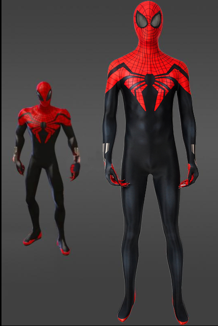 Marvel Superior Spiderman Jumpsuit For Men