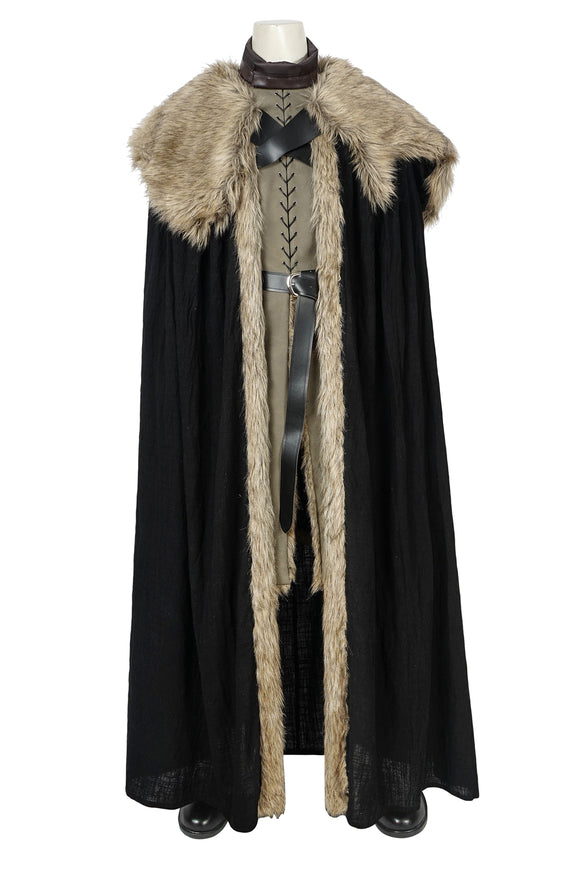 New Game Of Thrones Season 8 Jon Snow Cosplay Costume