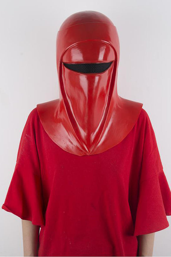 Star Wars Emperor's Shadow Guard Cosplay Mask Latex