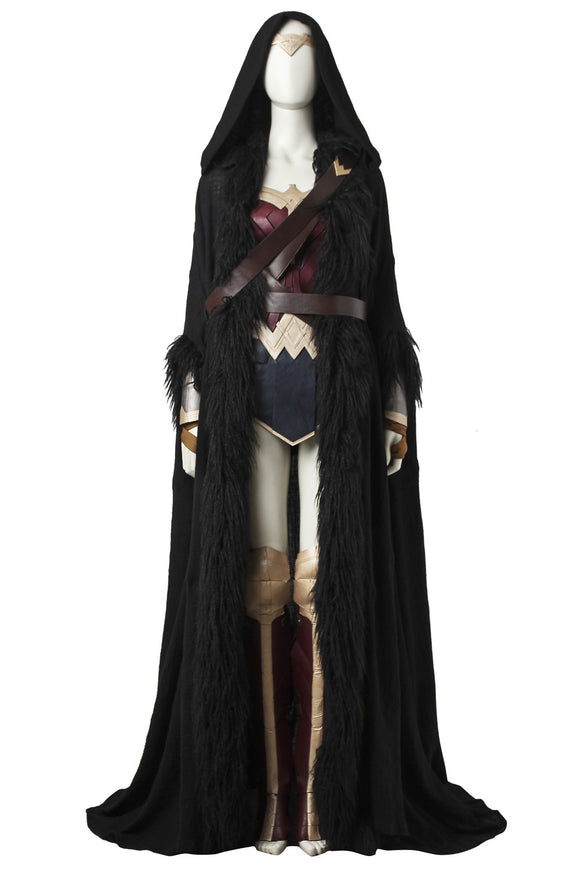 Wonder Woman Diana Prince Cloak Cosplay Costume