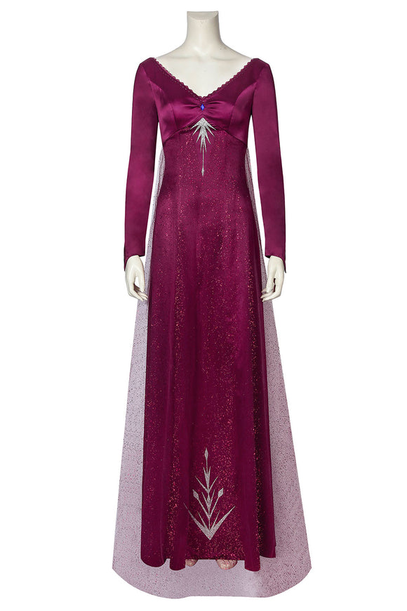 Disney Frozen 2 Elsa Dress Cosplay Costume