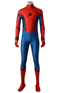 Movie Spiderman Homecoming Cosplay Costume Peter Benjamin Parker Jumpsuits