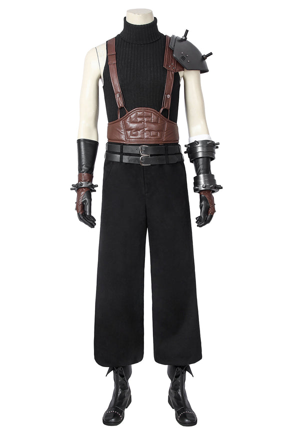 New Final Fantasy VII Cloud Strife Cosplay Costume