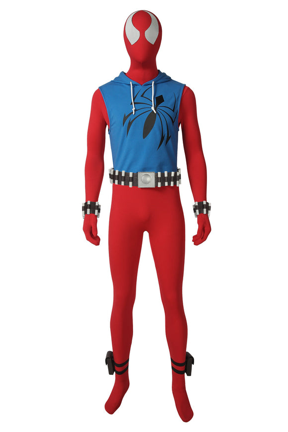Ben Reilly: Scarlet Spider Cosplay Costume