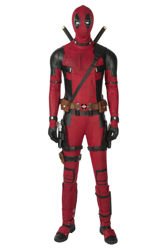 New Deadpool 2 Wade Wilson Cosplay Costume Style 2(No Guns&Knifes)