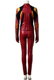 The Flash Season 3 Jesse Quick Cosplay Costume With Boots