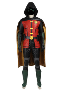 DC Justice League Vs. Teen Titans Robin Cosplay Costume