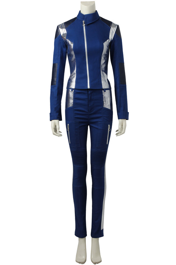 [In Stock]Star Trek: Discovery Michael Burnham Cosplay Costume(No Boots)
