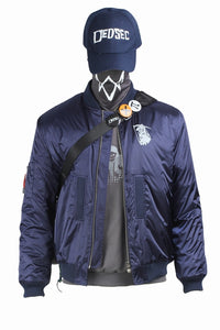 Watch Dogs 2 Marcus Holloway Cosplay Costume With Bag