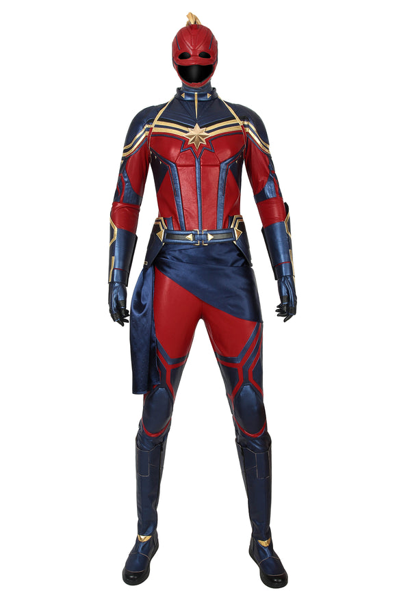 Avengers: Endgame Captain Marvel Cosplay Costume