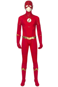 New The Flash Season 5 Barry Allen Cosplay Costume