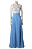 Westworld Dolores Abernathy Costume Blue Cosplay Dress