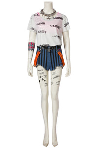 Birds Of Prey Harley Quinn Cosplay Costume Style B With Decorations