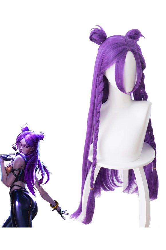 League Of Legends LOL KDA Kai Sa Cosplay Wig