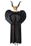 Maleficent: Mistress Of Evil Angelina Jolie Cosplay Costume