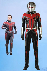 Marvel Ant-Man And The Wasp Trailer #2 Ant-Man Scott Lang Cosplay Costume With Boots And Helmet