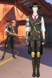 Overwatch Damage Hero Ashe Cosplay Costume