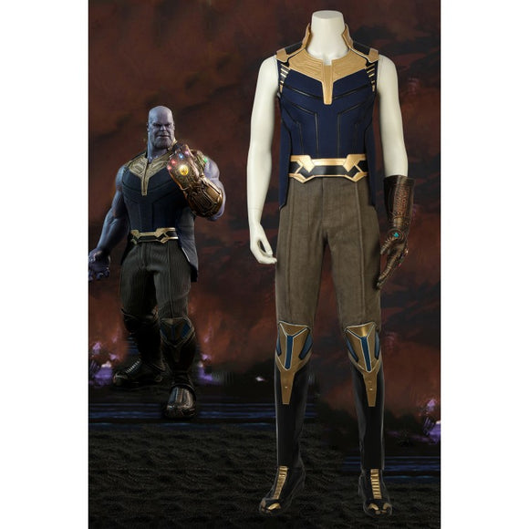Avengers 3: Infinity War Thanos Cosplay Costume With Boots
