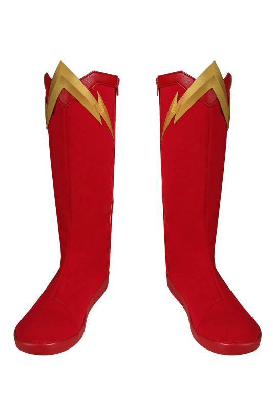 New The Flash Season 5 Barry Allen Cosplay Boots