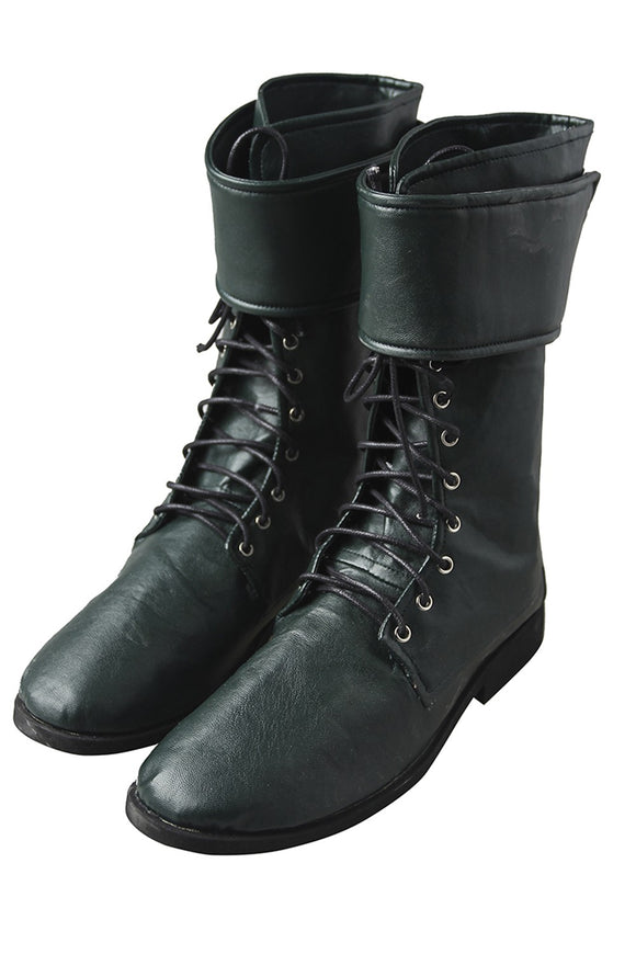 DC Green Arrow Oliver Queen Cosplay Boots
