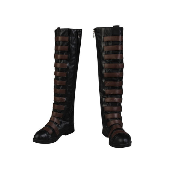 Deadpool 2 Neena Thurman Domino Cosplay Boots